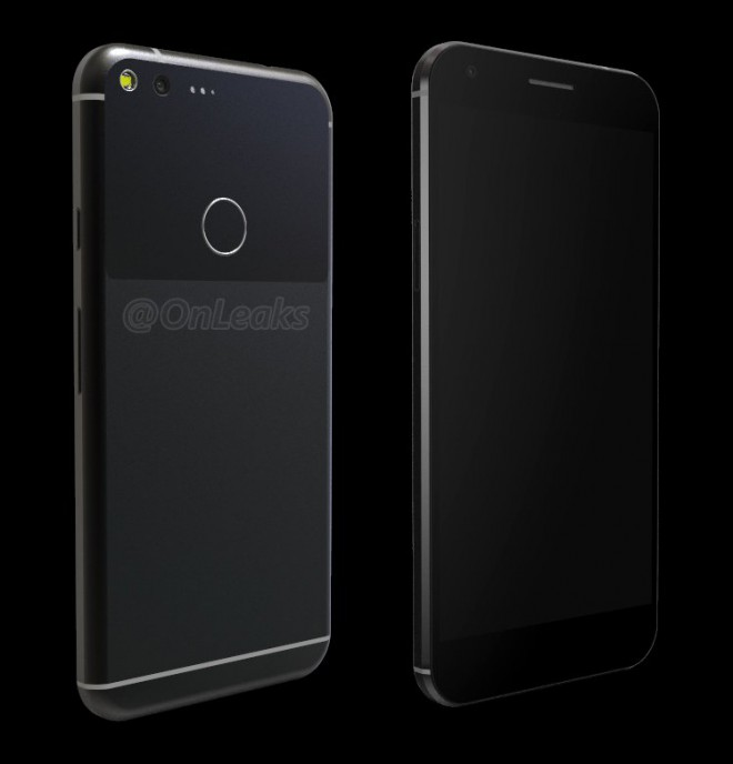 Google Pixel XL: ecco nuovi render e video 3D con le presunte dimensioni