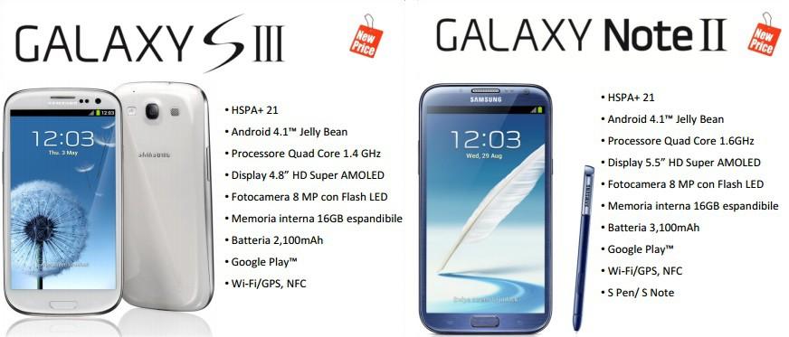 Samsung Galaxy S3 E Note 2 Pronti I Ribassi Ufficiali Per Larrivo Dell...