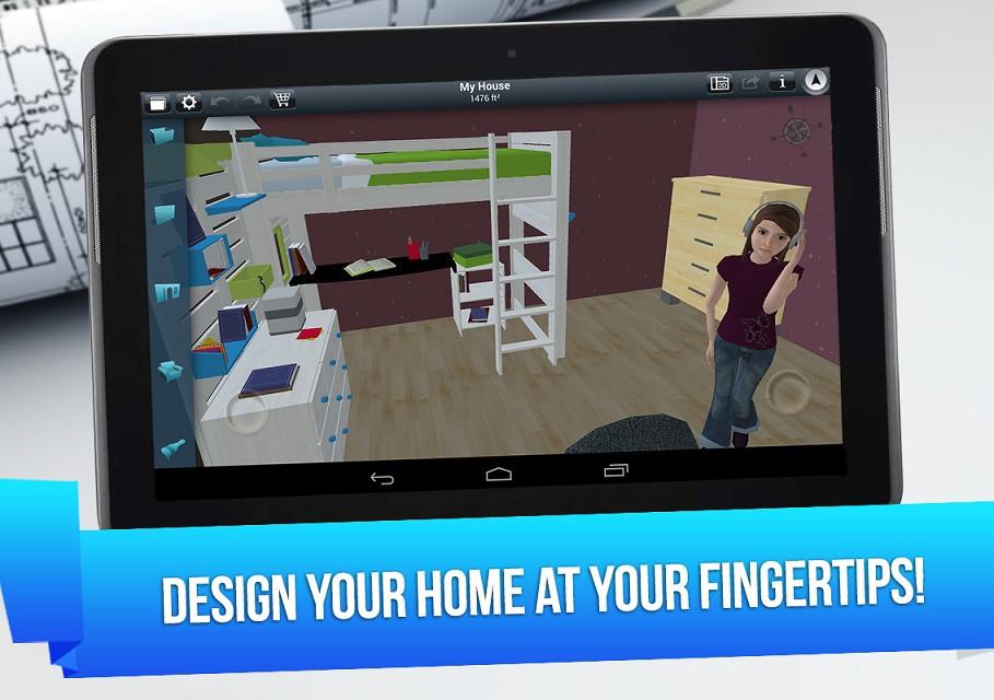 home design 3d: la prima app android per progettare la casa dei ... - Disegno Arredamento Interni Gratis