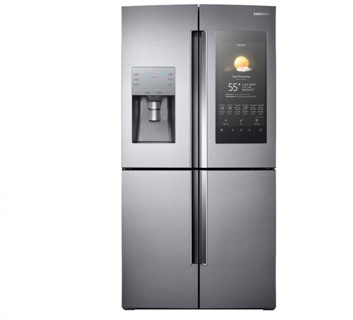 samsung rilancia family hub frigorifero con android e
