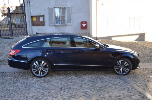Mercedes cls il test drive di for Mercedes benz cls station wagon