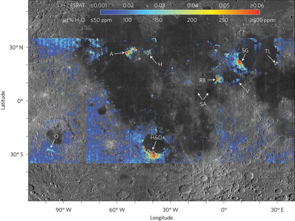 Nuova scoperta: c'è acqua sulla Luna