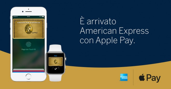 American Express è finalmente compatibile con Apple Pay!