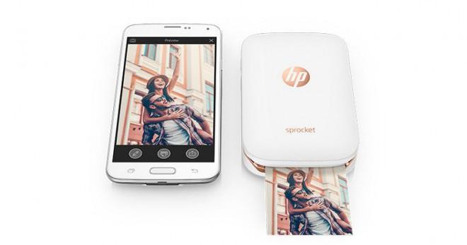 Hp sprocket la stampante tascabile per smartphone for Smartphone piccole dimensioni