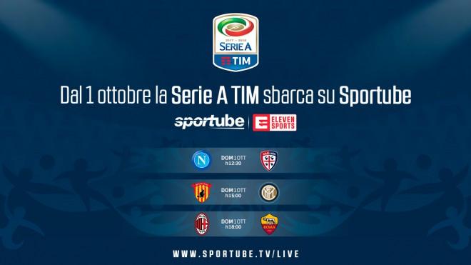 Serie A in Diretta Streaming su Sportube