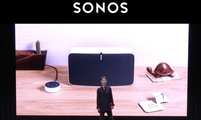 Sonos One con Amazon Alexa e Google Assistant