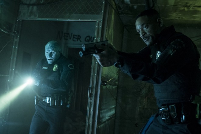 Guarda il trailer di 'Bright', il poliziesco fantasy con Will Smith